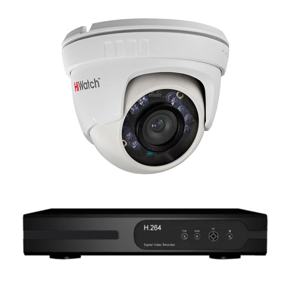 Комплект видеонаблюдения для подъезда