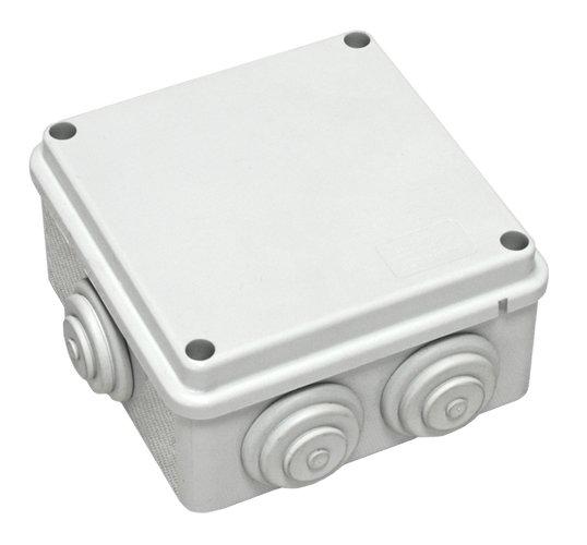 Коробка распределительная о/п 100х100х55, 6 вых., IP55
