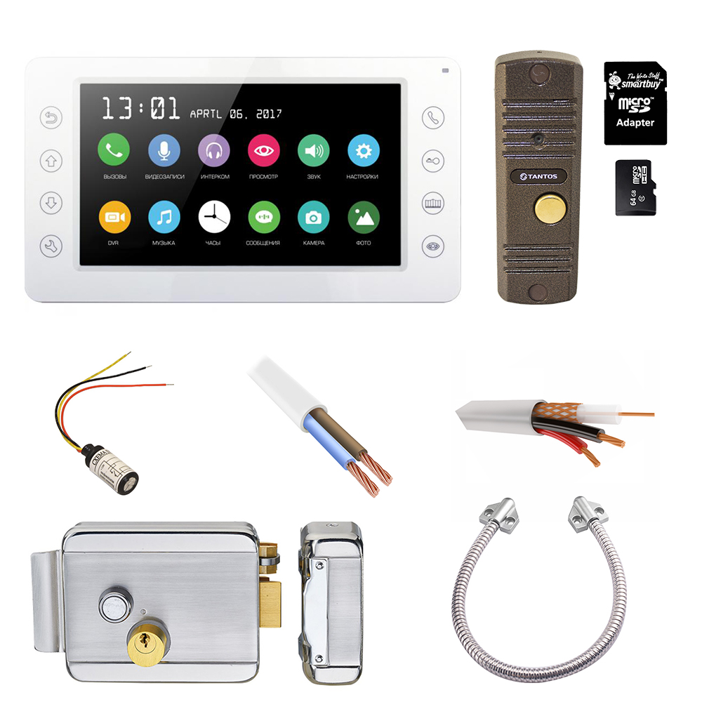 Комплект домофона Спектр-PAL-SD-2
