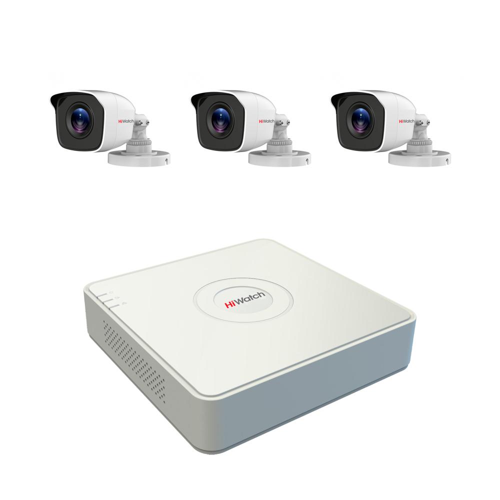 Комплект видеонаблюдения Спектр-3-2