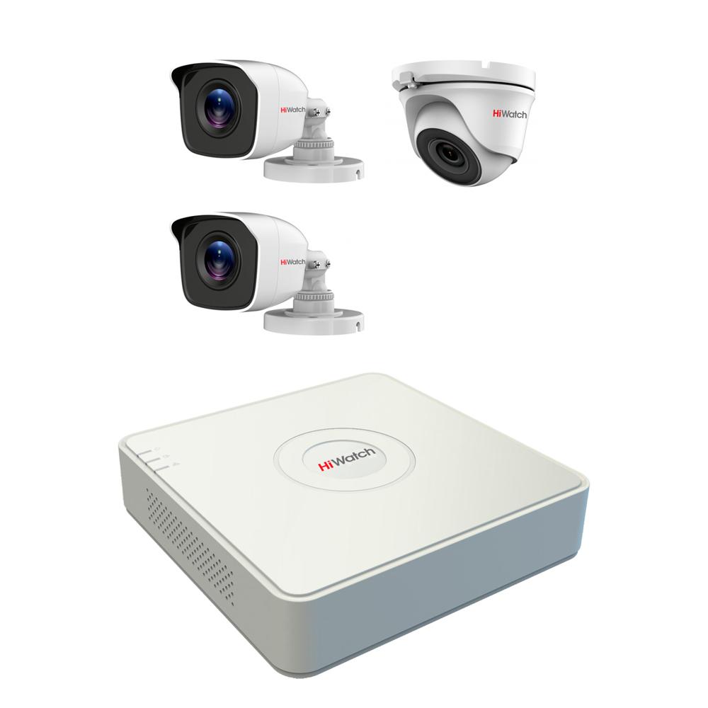Комплект видеонаблюдения Спектр-3-3
