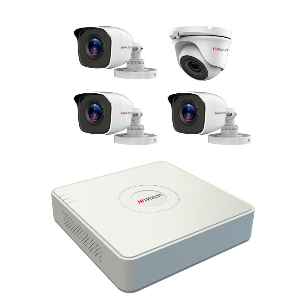 Комплект видеонаблюдения Спектр-4-2